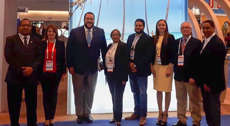 Banreservas Participa en Seatrade Cruise Global, en Fort Lauderdale Florida