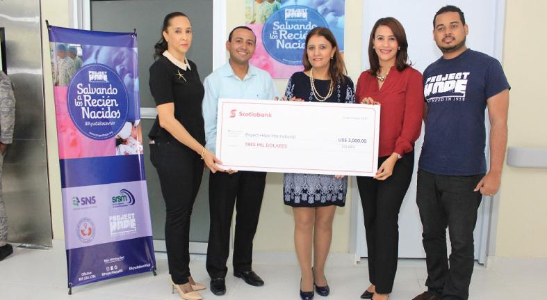Educación y salud infanto-juvenil beneficiarios donación Scotiabank