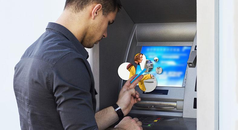 Las transacciones vía cajeros automáticos crecen un 15%