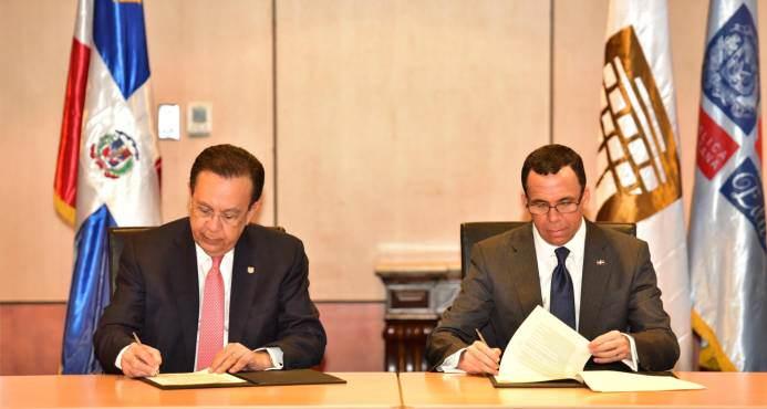 BCRD y Minerd firman acuerdo interinstitucional para educación económica y financiera