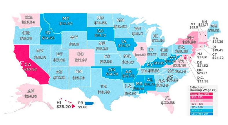 Do You Make Enough to Afford a Two-Bedroom Home?