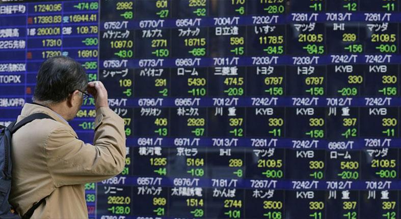 Tokio cierra en rojo arrastrada por la fortaleza del yen