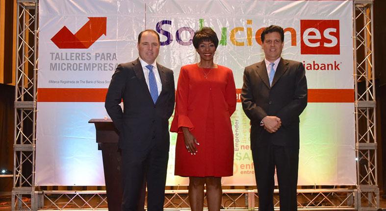 Microempresarios reciben orientacion Scotiabank optimizar ingresos
