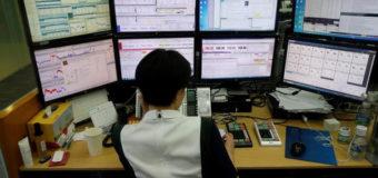 Las ventas de inversores foráneos e institucionales lastran la Bolsa de Seúl