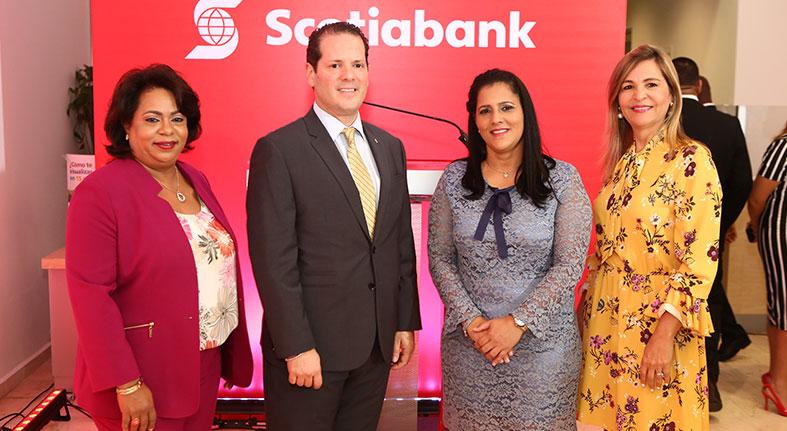 Sucursal Sambil Scotiabank agasaja clientes
