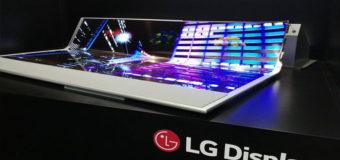 LG presentó una pantalla OLED