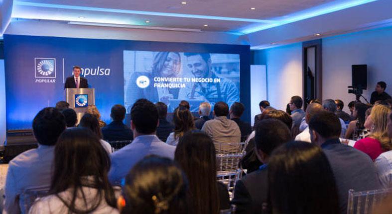 Banco Popular presenta programa franquicia Impulsa Popular para Pymes
