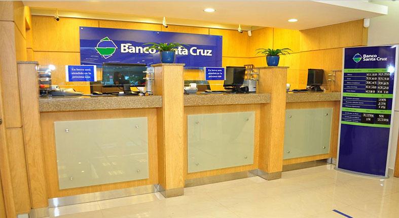 Activos del Banco Santa Cruz aumentan un 29% en 2017
