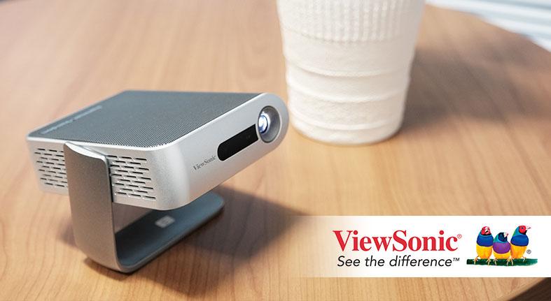 ViewSonic presenta proyector Ultra-Portátil con altavoces Harman Kardon®
