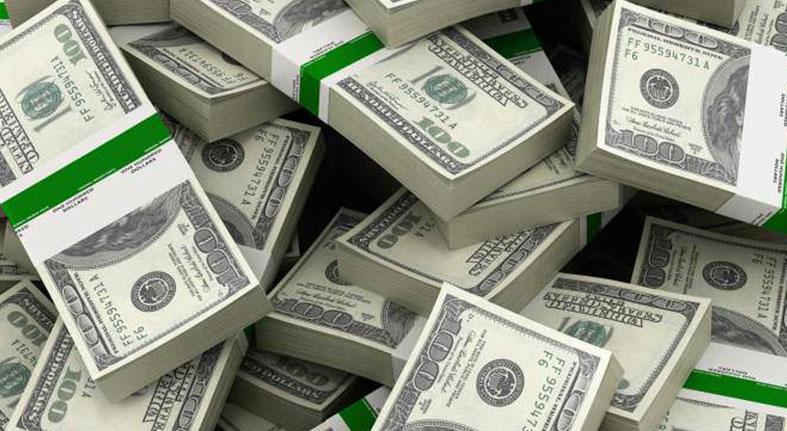 Las reservas internacionales han bajado 5.4 % en el último mes