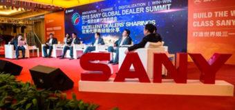 Sany International duplica las ventas en el primer trimestre
