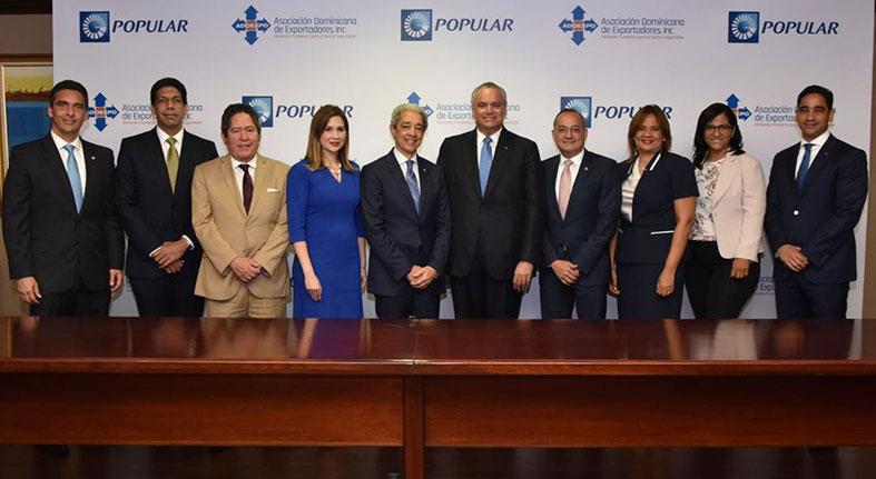 Presta ProExporta Popular RD$56,700 millones millar exportadores