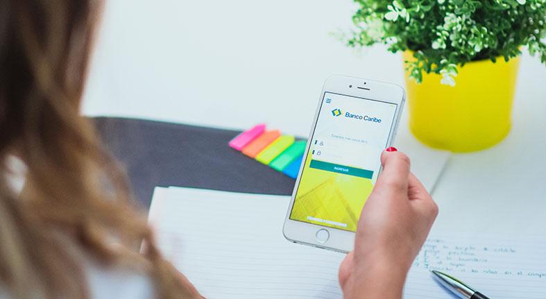 Banco Caribe presenta aplicación móvil