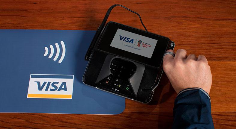 Visa revela quinta parte compras Copa Mundial FIFA usaron tecnología pagos sin contacto