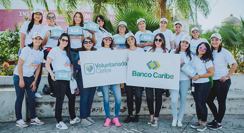 Banco Caribe integra de nuevo colecta entidad Techo