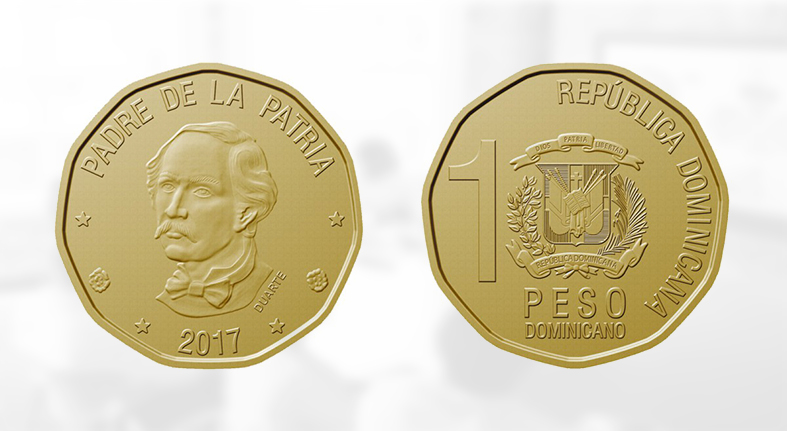 Banco Central pone en circulación nueva moneda de RD$1.00
