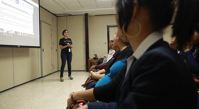 Grupo Popular realiza acciones en favor de la lactancia materna