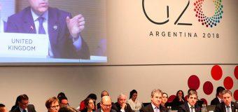 """G20 ve en comercio un """"motor de crecimiento"""" y aboga por """"mercados abiertos"""""""