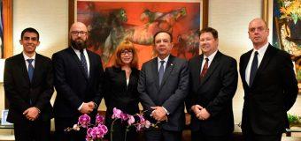 Misión de expertos estadounidenses asiste a Banco Central en materia de ciberseguridad