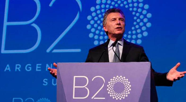 Concluye el foro empresarial del G20 con reclamos de consenso global