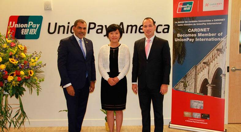 CardNET recibe acreditaciones de UnionPay International para aceptación de pagos en RD
