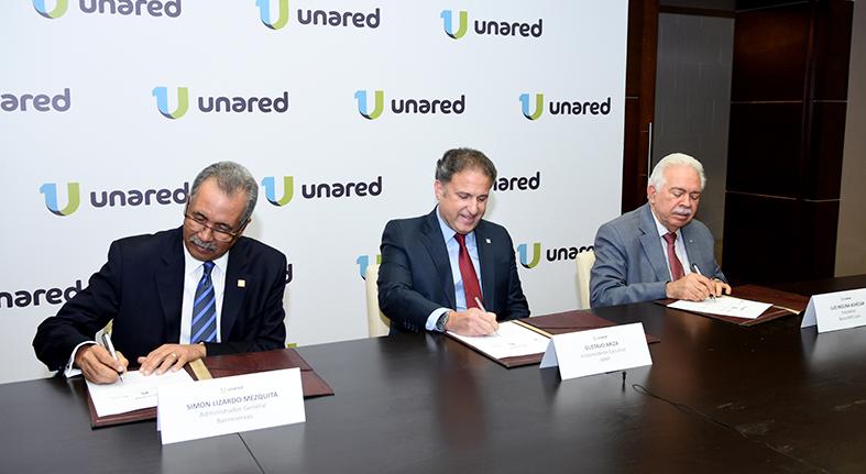 UNARED afilia APAP integrada Banreservas y BHD León