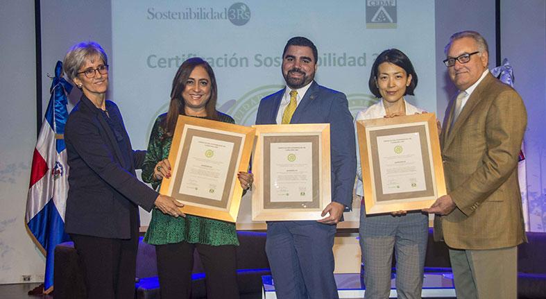 Banreservas reconocido por programa Sostenibilidad 3Rs