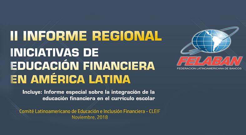 FELABAN presenta II Informe Regional Iniciativas de Educación Financiera
