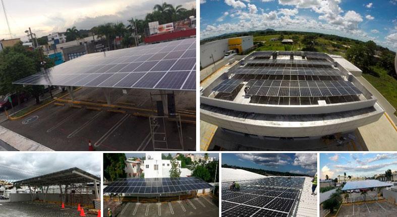 Popular es primera institución R.D. generación energía solar