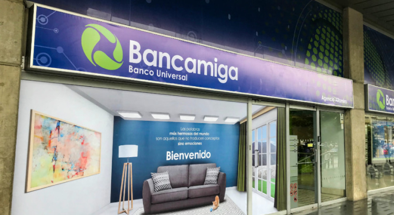 Cartera de créditos de Bancamiga sube 74.924,2% en 2018