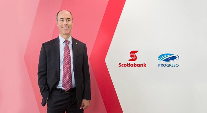 Completa Scotiabank adquisición 97.44% Banco Dominicano del Progreso