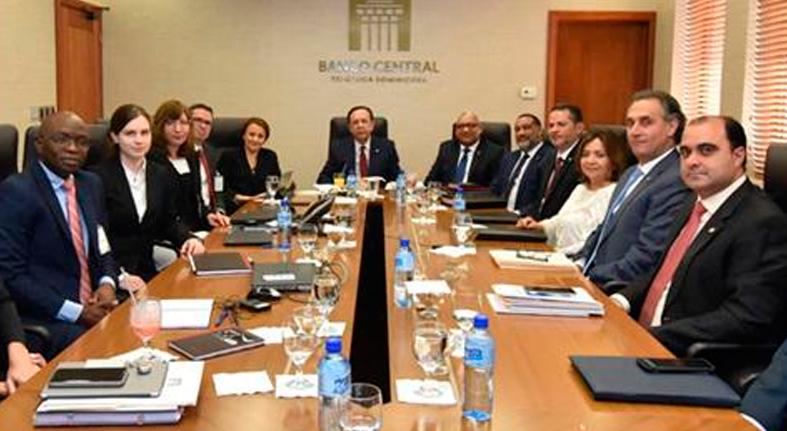 Banco Central se reúne con el FMI para tratar el estado actual y las perspectivas de la economía dominicana