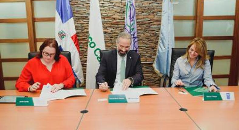 Banco Caribe implementará modelo de igualdad género con Ministerio de Mujer y PNUD