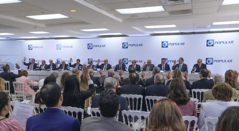 Celebra Banco Popular Dominicano asamblea accionistas