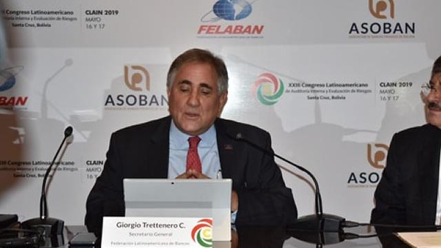 Palabras Secretario General de FELABAN, lanzamiento Congreso CLAIN 2019