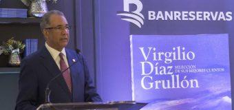 Publica Banreservas selección mejores cuentos Virgilio Díaz Grullón