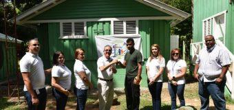 El Voluntariado Bancentraliano hizo entrega de los baños y vestidores donados para el monumento natural Saltos de Jima