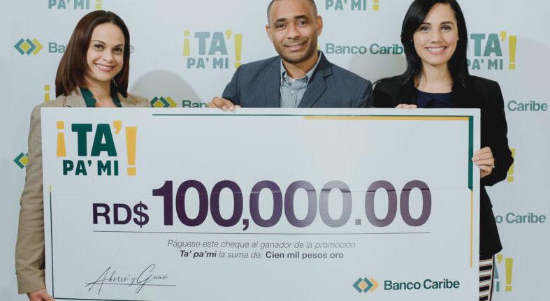 Banco Caribe premia ganadores de promoción sobre el ahorro