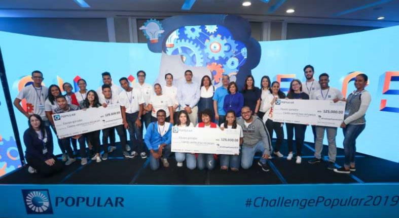 Challenge Popular reconoce el talento emprendedor de universitarios