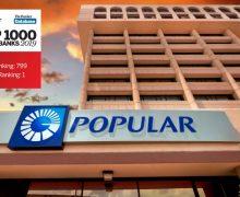 Popular sube 8 puestos más dentro 1,000 mejores bancos mundo