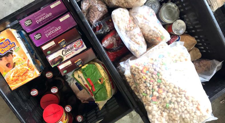 Banco de Alimentos recaba 100 mil kilos de comestibles