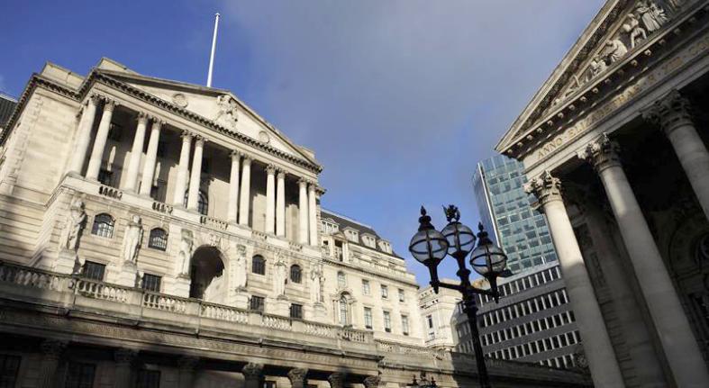 Banco de Inglaterra baja al 1.3% la previsión de crecimiento en 2019 y 2020
