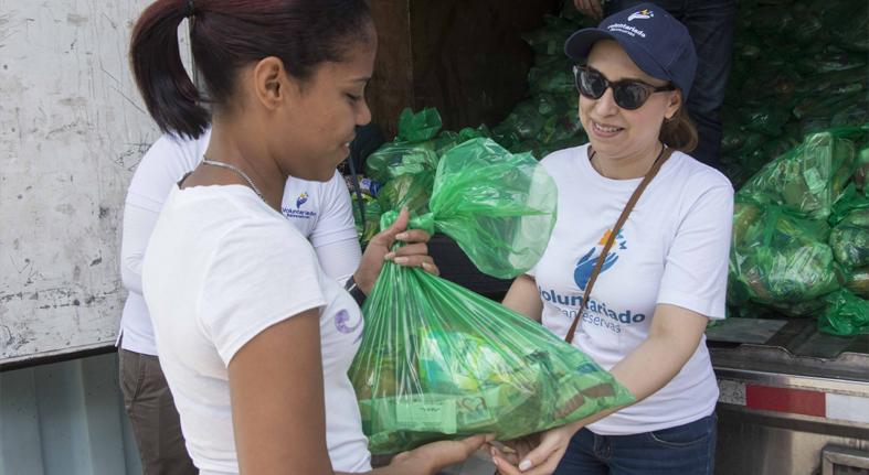 Beneficia Voluntariado Banreservas más 132,000 familias colaboran saneamiento ríos Ozama y Yaque del Norte