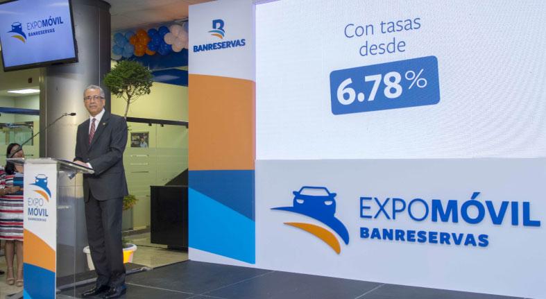 Banreservas inaugura Expomóvil 2019 con tasas desde 6.78%