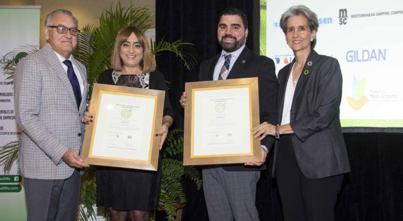 Banreservas recibe certificación de Sostenibilidad 3R's en 20 de sus oficinas
