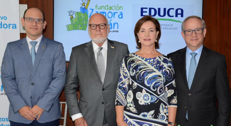 Comprometido educación Banco LAFISE apoya alianza Fundación Zamora Terán y EDUCA