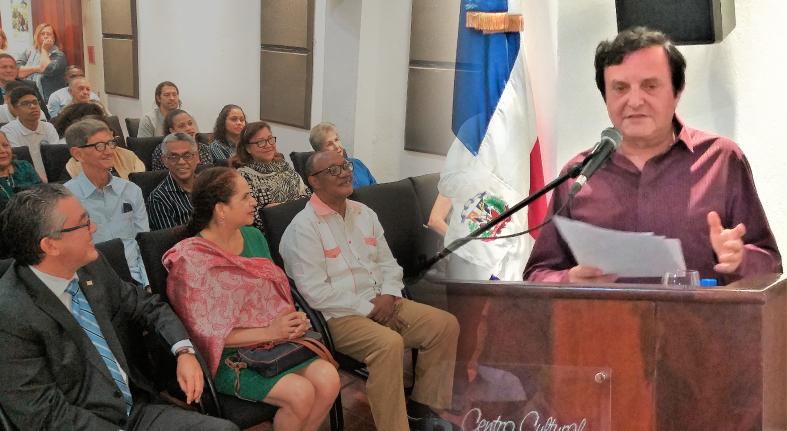 Crítico italiano pide postular a Marcio Veloz Maggiolo al Premio Cervantes en RD