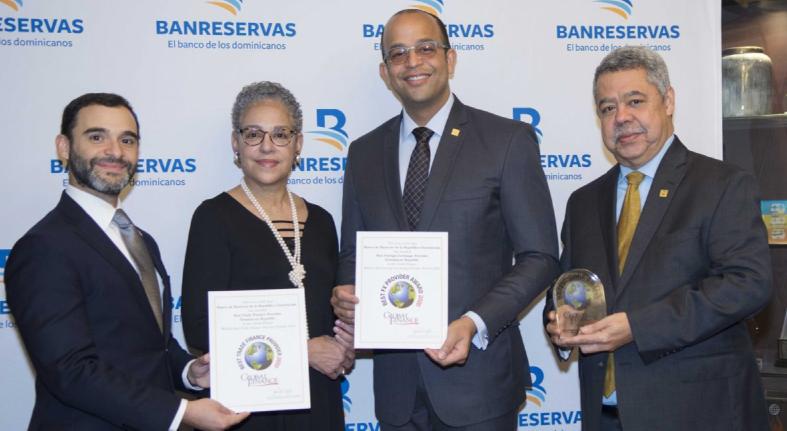 Global Finance otorgó tres reconocimientos al Banco de Reservas