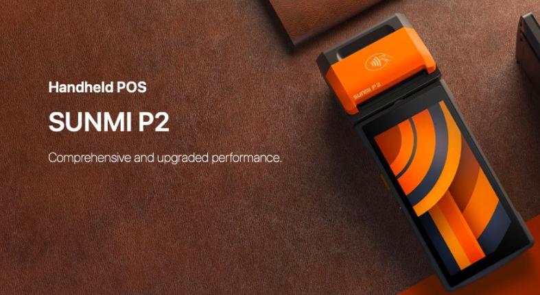 Presenta SUNMI primer POS financiero portátil con huella dactilar
