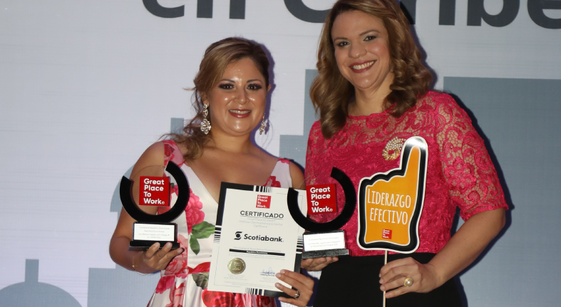 Certifican Scotiabank RD dentro Top 5 Great Place to Work Institute